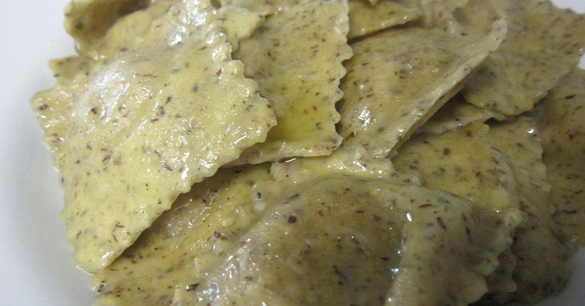piatto di raviole